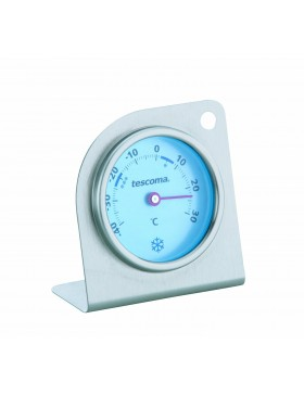 termometro da frigorifero / freezer inox tescoma