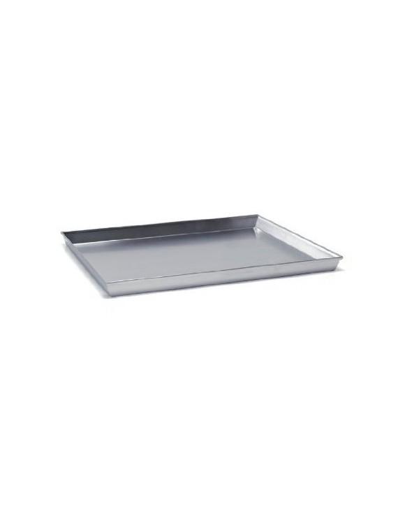 teglia alluminio rettangolare cm. 30x23 h.3 agnelli