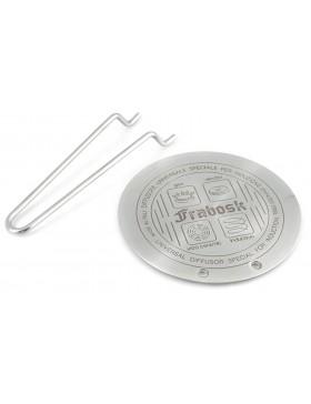diffusore universale in acciaio inox per induzione dia.14.5 frabosk