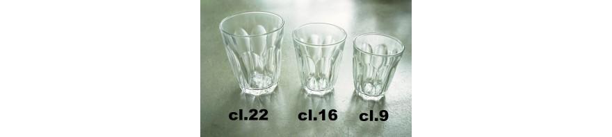 bicchiere vetro temperato cl.9 pz.6 provence duralex