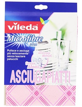 panno microfibre magic plus asciugapiatti vileda