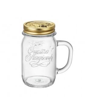 boccale vaso vetro 41.6 cl bormioli