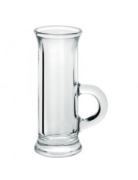 bicchiere vetro vodka cl.4.5 pz.6 polo borgonovo