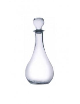 caraffa / bottiglia loto vetro con tappo 1 lt. rocco bormioli