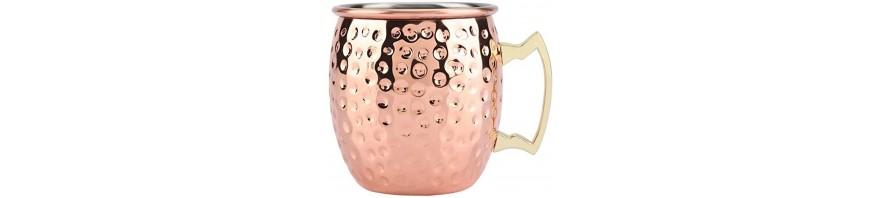 tazza mug in rame moskow mule classic lt. 0,55 paderno