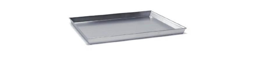 teglia alluminio rettangolare cm. 50x35 h.3 agnelli