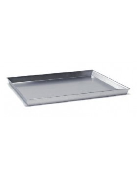 teglia alluminio rettangolare cm. 60x40 h.3 agnelli