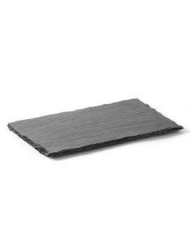 piatto ardesia rettangolare cm.26x16