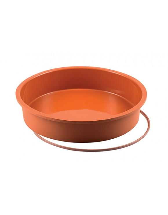 stampo in silicone round cake silikomart