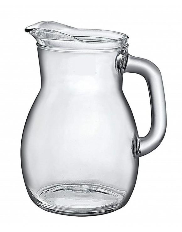 caraffa vetro bistrot 1 lt. rocco bormioli