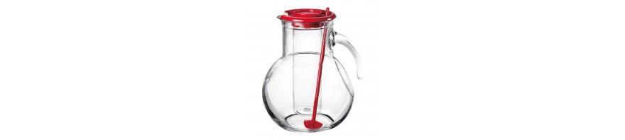 caraffa kufra in vetro lt. 2.15  bormioli