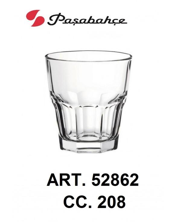 bicchiere casablanca pasabahce cc.208 conf. 12 pz.