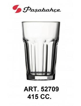 bicchiere casablanca pasabahce cc.415 conf. 12 pz.