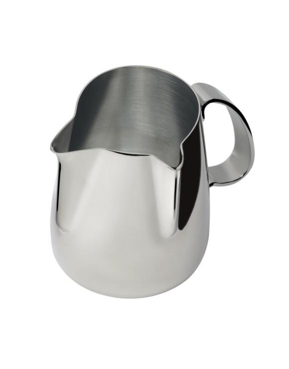 lattiera in acciaio inox duet-a revolution 50 cl a due becchi a 90° ilsa